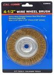 "4-1/2"" Wire Wheel Brush"
