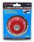 "4"" Knot Type Wire Cup Brush"