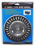"6"" Knot Type Wire Wheel"