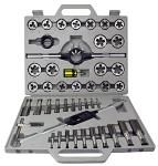 45-pc. Tungsten Steel Tap & Die Set - SAE