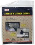 2-pc. 9' x 12' Drop Cloths