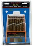 29-pc. Titanium HSS Drill Bits