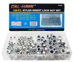 150-pc. Nylon Insert Lock Nut Set