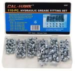 110-pc. Hydraulic Grease Fitting Set