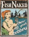 Bobbers Tin Sign