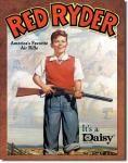 Red Ryder Tin Sign