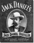 Jack Daniels Portrait Tin Sign