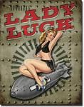 Legends - Lady Luck Tin Sign