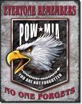 Legends - POW Eagle - Tin Sign