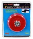 """5"""" Knot-Type Fine Wire Cup Brush"""
