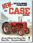Case 500 Diesel Tin Sign