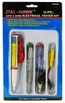 4-pc. Auto & Home Electrical Tester Kit