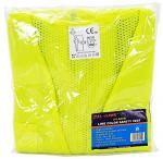 Lime Color Safety Vest - X-Large