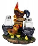 Farm Rooster Salt & Pepper Shakers