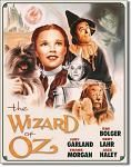 Wizard of Oz Tin Sign