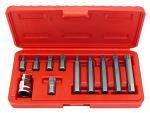 11-pc. 12 Point Spline Bit Set