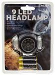 9 LED Headlamp