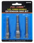 3-pc. Power Wobble Extension Bar Bit