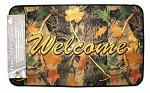 Welcome Camo Door Mat