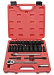 "27-pc. 3/8"" Drive Impact Socket Set - SAE"