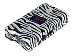 3 Million Volt Stun Gun - Zebra Black / White
