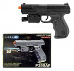 P299AF Spring Powered Airsoft Handgun - Black