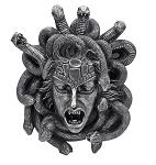 Gorgon's Gaze Medusa Hanging Head