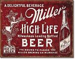 Miller - Bound to Please Tin Sign