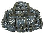The Humvee Duffle Bag - Blue Digital Camo