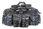 The Tank Duffle Bag - Blue Digital Camo
