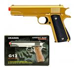 G13G Spring Powered Airsoft Handgun - Golden