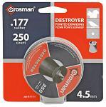 250-pc. Crosman Destroyer High Grade 4.5mm .177 Caliber Pellets