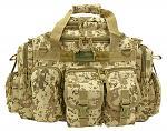The Humvee Duffle Bag - Desert Digital Camo