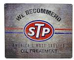 STP Oil Treatment Tin Sign