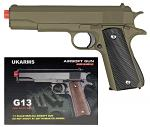 G13 Spring Airsoft Pistol - Tan