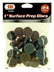 "1"" Surface Prep Discs - 24pc."