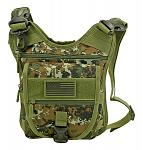 Tactical Sling Range Bag - Green Digital Camo