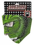 SkulSkinz Neoprene Face Mask - Lizard