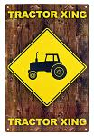 Tractor Xing Tin Sign