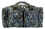 Camping Duffle Bag - Blue Digital Camo