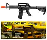 Panther Arms Kitty Kat AEG Electric Airsoft Rifle Kit - Black