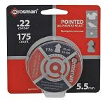 175-pc. Crosman Premier 5.5mm .22 Caliber Pointed All Purpose Pellet