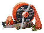 "2"" x 27' Ratchet Tie Down w/ J Hook"