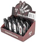 12-pc. Spring Assist Zombie Folding Knife Set