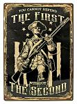 You Cannot Defend The First Tin Sign