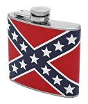 5 oz. Stainless Steel Hip Flask - Confederate Flask