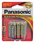 "12-pc. Panasonic Alkaline ""AAA"" Batteries"