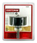 "Craftsman Carbon Hole Saw 2.25"" with Quick Change Shank"