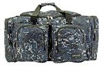 Camping Duffle Bag Medium - Blue Digital Camo
