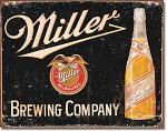 Miller Brewing Company Tin Sign